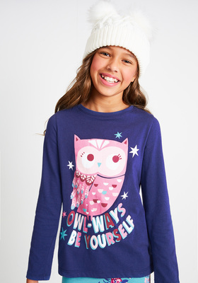Owl-Ways Be You Long Sleeve