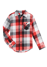 Lightweight Flannel Top
