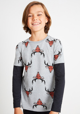 2-in-1 Geo Stag Tee