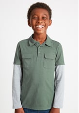2-In-1 Polo Tee