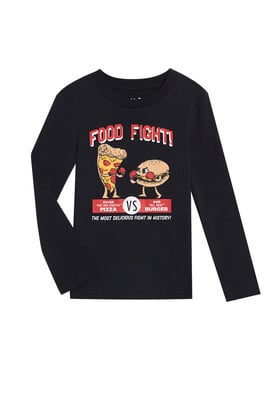 Food Fight Tee