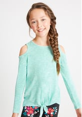 Sweater-Knit Top