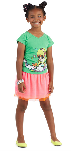 Neon Candy Girl Outfit